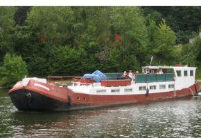 Tjalk - 360502 Varend Woonschip, Sailing houseboat Tjalk - 360502 Varend Woonschip te koop bij Loyal Yachts
