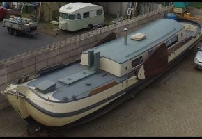 Skutsje 1601 -370702 Motortjalk Dutch Barge, Ex-commercial motor boat Skutsje 1601 -370702 Motortjalk Dutch Barge te koop bij Loyal Yachts