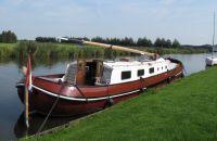 Tjalk 1673 370804 Dutch Barge Skutsje, Plat- en rondbodem, ex-beroeps zeilend