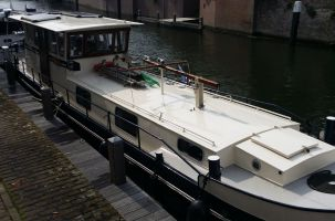 Steilsteven 1600 - 371001 Motorschip, Peniche, Dutch Barge