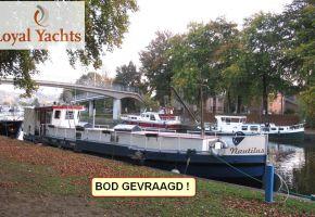 Steilsteven1650 - 371004 Dutch Barge - Peniche, Ex-professionele motorboot Steilsteven1650 - 371004 Dutch Barge - Peniche te koop bij Loyal Yachts
