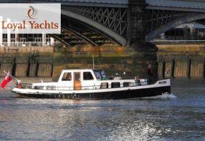 Steilsteven - 390101 Tug / Amsterdammer, Ex-commercial motor boat Steilsteven - 390101 Tug / Amsterdammer te koop bij Loyal Yachts