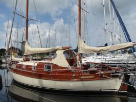 Colin Archer 10.50, Klassiek scherp jacht  for sale by Zuiderzee Jachtmakelaars