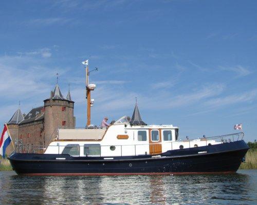 Stevenvlet 1350, Motorjacht Stevenvlet 1350 te koop bij Zuiderzee Jachtmakelaars