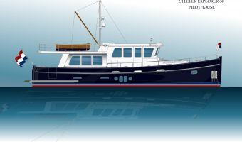 Моторная яхта Steeler Explorer 50 Raised Pilothouse для продажи