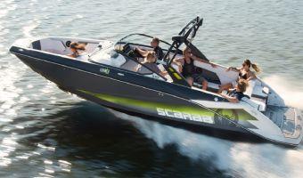 Быстроходный катер и спорт-крейсер Scarab 255 Wake Edition для продажи