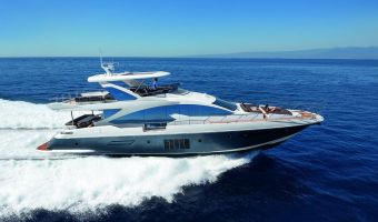Superyacht Motor Azimut Brazilian 83 zu verkaufen