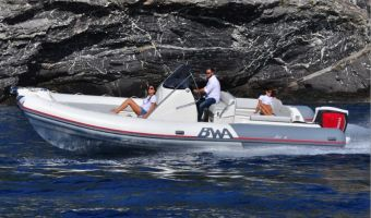 Bateau à moteur open Bwa Sport 28 Gtc à vendre