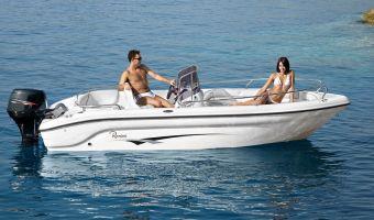 Barca sportiva Ranieri Open Line Voyager 17 in vendita