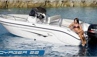 Barca sportiva Ranieri Open Line Voyager 22 in vendita