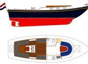 Rijnlandvlet 1000 OC, Motorjacht Rijnlandvlet 1000 OC te koop bij Nieuwbouw