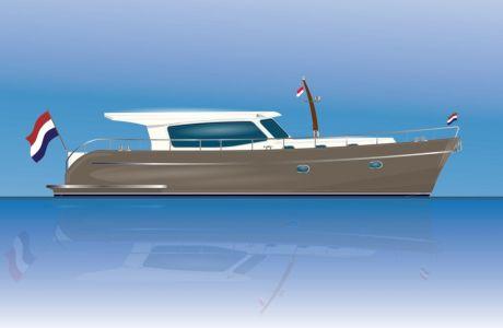 Noordzeekotter 45, Motorjacht Noordzeekotter 45 te koop bij Nieuwbouw