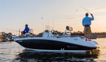Bateau à moteur open Yamaha Jetboot 190fsh Deluxe à vendre