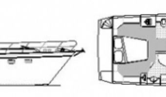 Bateau à moteur Zijlmans Eagle 1300 Cabrio à vendre