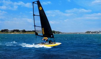 Open sailing boat Tiwal 3.2 – 5.2 M² for sale