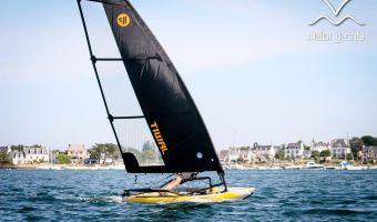 Open zeilboot Tiwal 3 – 5,2m² Zeil eladó