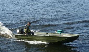 Hastighetsbåt och sportkryssare  Tuna J-run 455 till försäljning