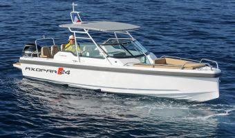 Быстроходный катер и спорт-крейсер Axopar 24 T-top для продажи