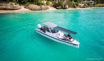 Hastighetsbåt och sportkryssare  Axopar 28 T-top till försäljning