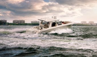 Speed- en sportboten Boston Whaler 350 Realm eladó