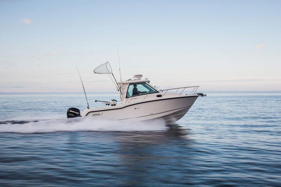 boston whaler 285 conquest pilothouse