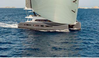 Flerskrovs seglingbåtar  Lagoon Seventy7 till försäljning