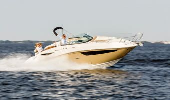 Bateau à moteur open Sea Ray Sundancer 265 à vendre