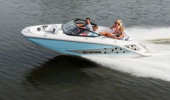 Speedboat and sport cruiser Scarab 195 Id Jetboot for sale