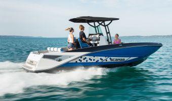 Быстроходный катер и спорт-крейсер Scarab 255 Open Id Jetboot для продажи