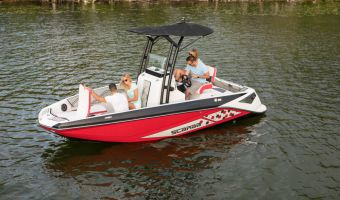 Speedboat and sport cruiser Scarab 195 Open Id Jetboot for sale