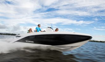 Speedboat and sport cruiser Scarab 195 Open G Jetboot for sale