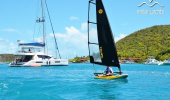 Open sailing boat Tiwal 3 – 7m² Zeil for sale
