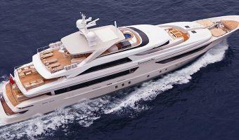 Superyacht motor Sanlorenzo 46steel for sale