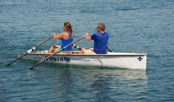 Open motorboot en roeiboot Virus Boats Yole Club En Class eladó