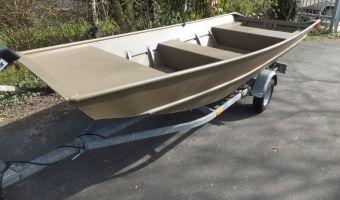 Открытая лодка и гребная лодка Yamaha G3 1442 Aluminium Platbodem для продажи