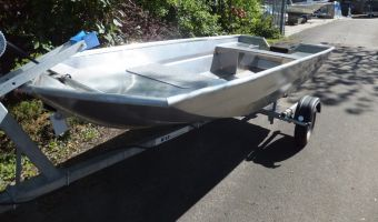 Open boat and rowboat Tuna 355 Aluminium Visboot for sale