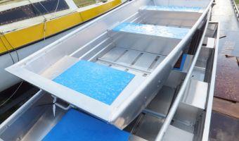 Open boat and rowboat Trident 10 Aluminium Platbodem for sale