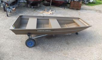 Open boat and rowboat Sylvan 1032 Aluminium Platbodem for sale