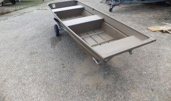 Open boat and rowboat Sylvan 1232 Aluminium Platbodem for sale