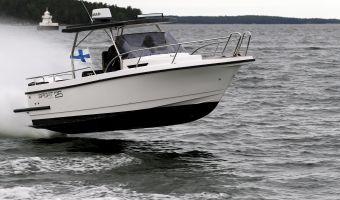 Speedboat und Cruiser Nord Star 25 T-top zu verkaufen