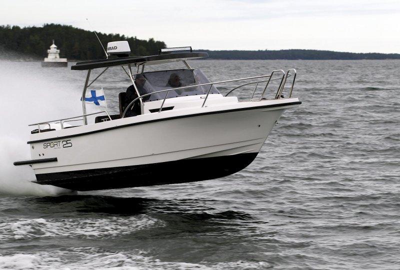 Nord Star 25 T-top, Speed- en sportboten