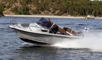 Hastighetsbåt och sportkryssare  Nord Star Sport 25 Open till försäljning