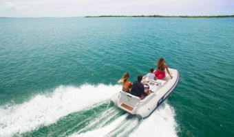 Ribb och uppblåsbar båt Ab Inflatables Tender Abjet 330 till försäljning