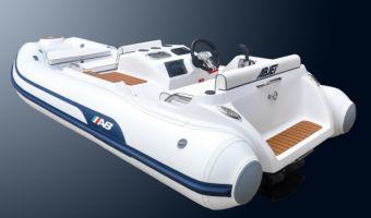 Ribb och uppblåsbar båt Ab Inflatables Tender Abjet 380 till försäljning