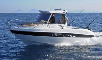RIB og oppustelige både  Saver 590 Cabin Fisher til salg