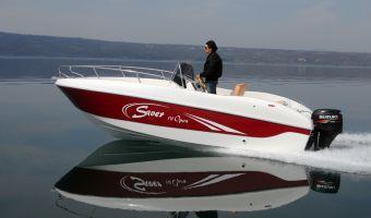 Быстроходный катер и спорт-крейсер Saver 19 Open для продажи