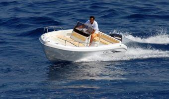Быстроходный катер и спорт-крейсер Saver 520 Open для продажи