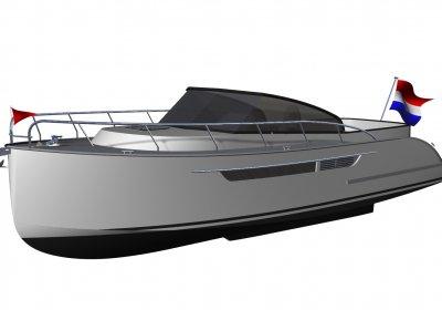 Crown Admiral 35 (Nieuw), Motorjacht
