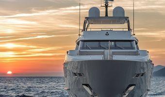 Superyacht motor  Sanlorenzo Sd126 til salg