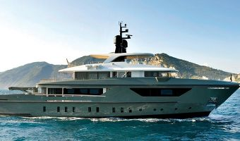 Superyacht motor  Sanlorenzo 460exp til salg